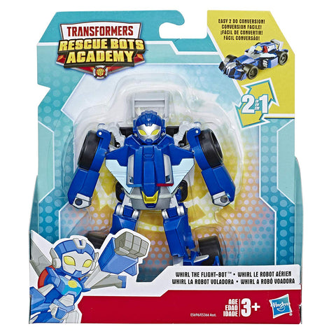 Transformers: Rescue Bots Academy Whirl The Flight-Bot Race Car Box Package