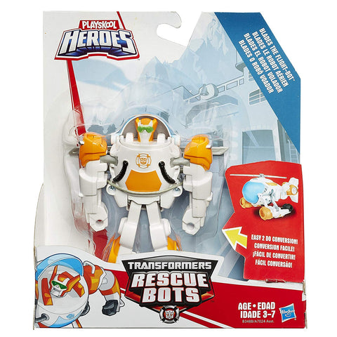 Transformers Rescue Bots Blades the Flight Bot Rescan Series Box Package