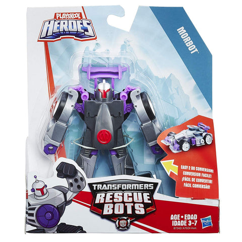 Transformers Rescue Bots Morbot Rescan Series Box Package
