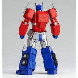 Transformers Revoltech 014 Optimus Prime Toy Back