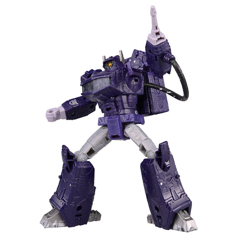 Transformers War Cybertron Siege WFC-S Leader Decepticon Shockwave Robot