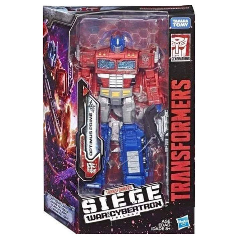 Transformers War Cybertron Siege WFC-S11 Voyager Optimus Prime Package