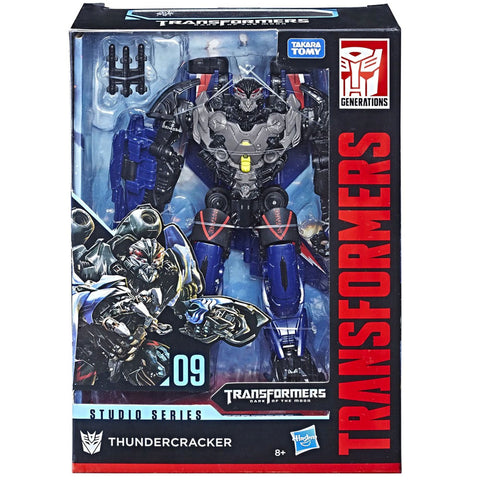 Transformers Movie Studio Series 09 Voyager Thundercracker Toys r Us exclusive box package front
