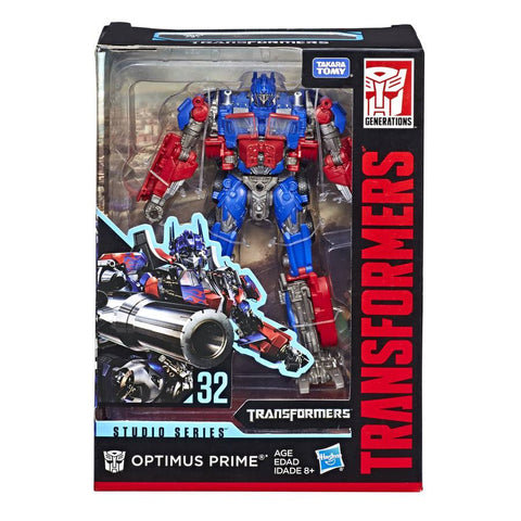 Transformers studio series 32 Voyager Optimus Prime Box Package