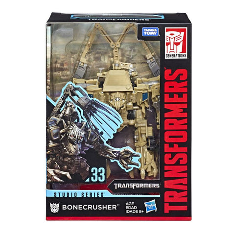 Transformers Studio Series 33 Movie Voyager Bonecrusher Box Package