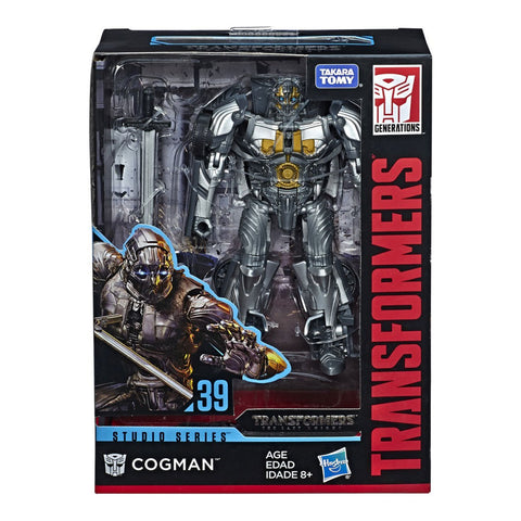 Transformers Movie Studio Series 39 Deluxe Cogman The Last Knight Box Package