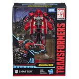 Transformers Movie Studio Series 40 Deluxe Class Decepticon Shatter robot Box Package