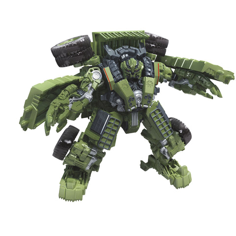 Transformers Movie Studio Series 42 Voyager ROTF Constructicon Long Haul Robot Render
