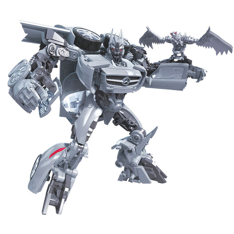 Transformers Studio Series 51 Dark of the Moon Soundwave and Laserbeak Deluxe Robot Render