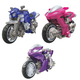 Transformers Studio Series 52 Deluxe Arcee Chromia Elita-1 3-pack Motorcycle Render