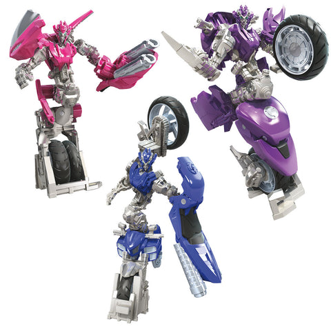 Transformers Studio Series 52 Deluxe Arcee Chromia Elita-1 3-pack Robot Render