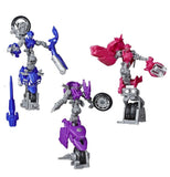 Transformers Studio Series 52 Deluxe Arcee Chromia Elita-1 3-pack Robot Toy