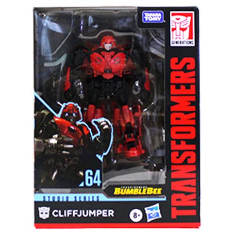 Transformers Movie Studio Series 64 Cliffjumper Cybertronian Box package Front