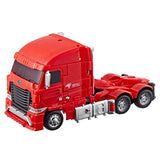 Transformers Jingdong JD.com Red Knight Voyager Action figure Box back Chinese exclusive truck mode
