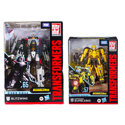 Transformers Studio Series Blitzwing vs Bumblebee box package front