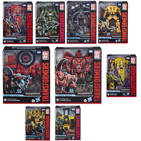 Transformers Studio Series Constructicons 9 Figure Bundle box package group