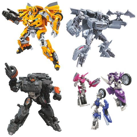 Transformers Studio Series Deluxe Wave 8 - Set of 4