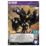 Transformers TCG Card Game Wave 1 Skywarp Sneaky Prankster Robot Front