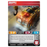 Transformers TCG Card Game Wave 2 Grapple Autobot Architect Vehicle Alt-mode