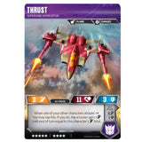 Transformers TCG Card Game Thrust Supersonic Interceptor Jet Vehicle