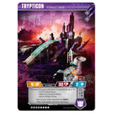 Transformers TCG Card Game Trypticon Assault Base Alt Mode Titan