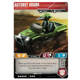 Transformers TCG Card Game Autobot Hound Long-Range Scout Back Jeep