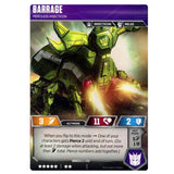 Transformers TCG Card Game Barrage Merciless Insecticon Back Alt-mode
