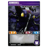 Transformers TCG Wave 1 T07 Bombshell Insecticon Mind-Controller Robot Back