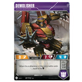 Transformers TCG Card Game Demolisher Devoted Decepticon Robot Front