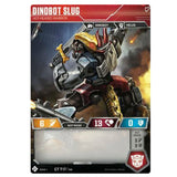 Transformers TCG Card Game Dinobot Slug Hot-Headed Warrior Robot Front