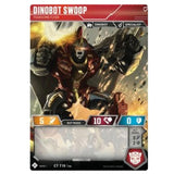 Transformers TCG Card Game Dinobot Swoop Fearsome Flyer robot front