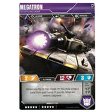 Transformers TCG Card Game Megatron Decepticon Leader Back Tank Mode