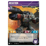 Transformers TCG Card Game Megatron Decepticon Leader Front Robot Mode
