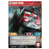 Transformers TCG Card Game Optimus Prime Freedom Fighter Semi Back