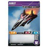 Transformers TCG Card Game Ramjet Sky Smasher Jet Mode Back