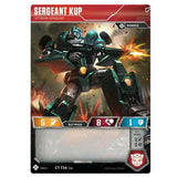 Transformers TCG Card Game Sergeant Kup Veteran Robot Front