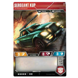 Transformers TCG Card Game Sergeant Kup Veteran Car Back