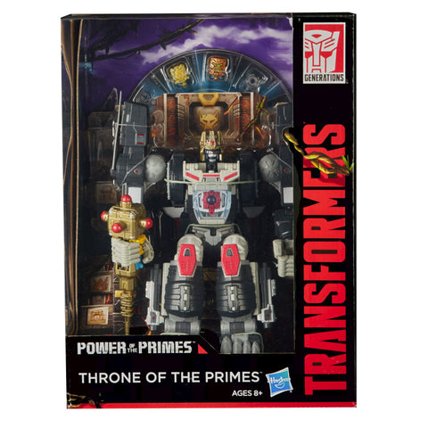 Transformers SDCC 2018 Throne of the Primes Packaging Optimus Primal