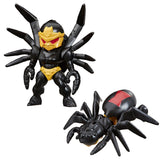 Transformers Cyberverse Tiny Turbo Changers Series 1 Blackarachnia Spider Toy