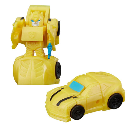 Transformers Tiny Turbo Changers Cyberverse Series 1 Bumblebee Yellow Car Toy