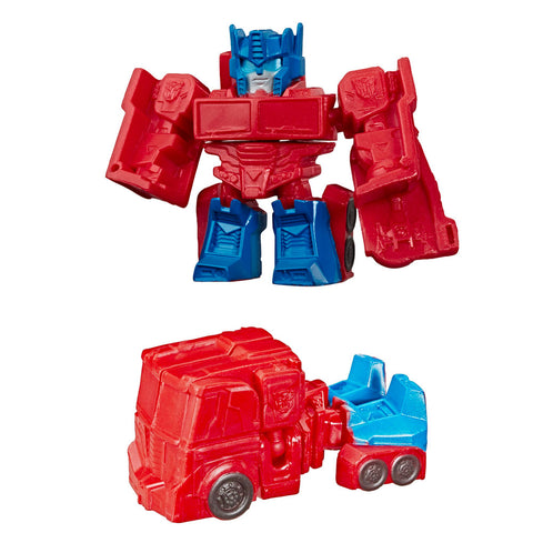 Transformers Tiny Turbo Changers Cyberverse Series 1 Optimus Prime Sem Truck Toy