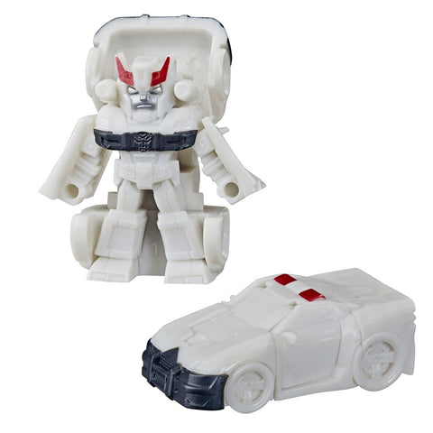 Transformers Tiny Turbo Changers Cyberverse Series 1 Prowl Police Car Toy