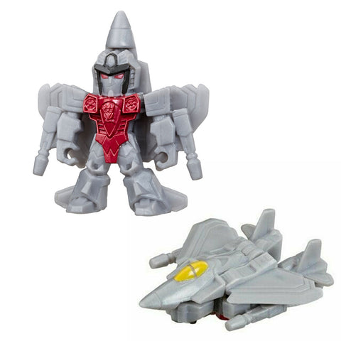 Transformers Tiny Turbo Changers Cyberverse Series 1 Starscream Jet Plane Toy