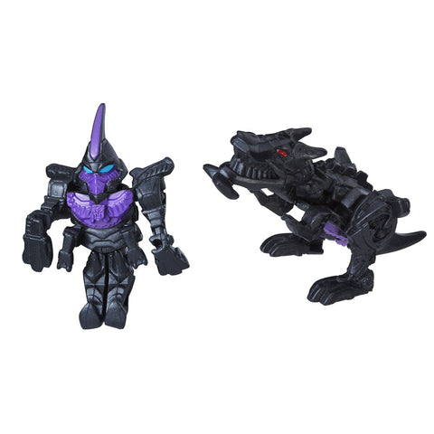 Transformers Tiny Turbo Changers The Last Knight Series I Shadow Armor Grimlock movie toy