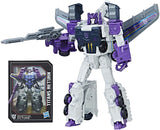 Transformers Titans Return Voyager Decepticon Octone Octane Murke Triple-changer Robot and card