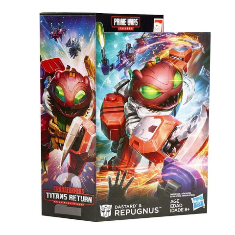 Transformers Titans Return Repugnus, Dustard, & Solas Prime - Deluxe