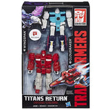 Transformers Titans Return Wingspan Cloudraker 2-pack Giftset Walgreen exclusive packaging box