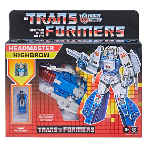 Transformers Headmaster G1 Deco Highbrow Reissue