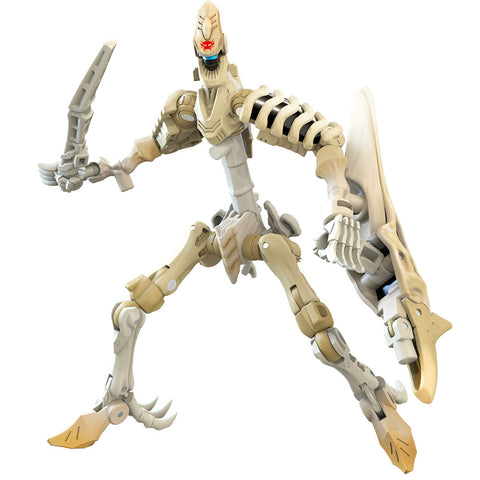 Transformers War for Cybertron WFC-K25 Deluxe Wingfinger Fossilizer Bones Skeleton robot toy render