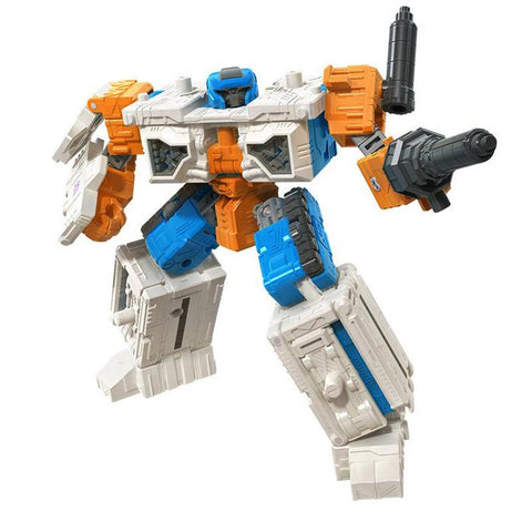 Transformers War for Cybertron Earthrise WFC-E18 Deluxe Modulator Airwave Robot Render